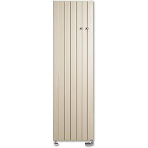 Vasco Viola Verticaal V1L1-ZB designradiator as=0018 180x22cm 594W Warm Grijs