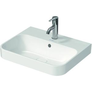 Duravit Opzetwastafel Happy D.2 Plus 50x40 cm Wit WonderGliss