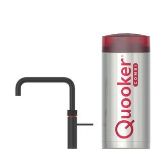 Quooker Fusion Square Zwart met COMBI boiler 3-in-1 kraan