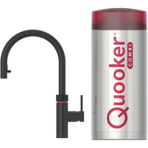 Quooker Flex Zwart met COMBI+ boiler 3-in-1-kraan