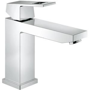 Grohe Eurocube wastafelkraan medium zonder waste Chroom