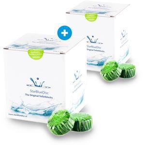 StarBlueDisc 48 stuks toiletblokjes 2 jaarverpakking groen
