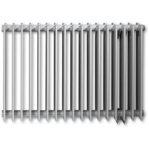 Vasco Tulipa Horizontaal TH1 radiator as=0027 60x54cm 460W Grijs Aluminium