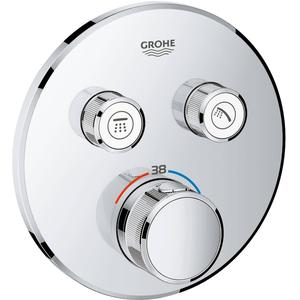 Grohe Grohtherm Smartcontrol Afbouwdeel Thermostaat met omstel rond
