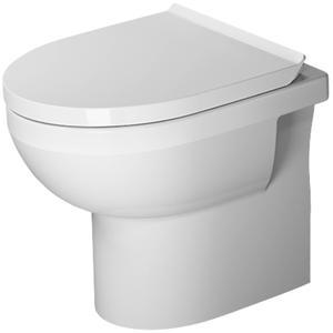 Duravit Staand toilet DuraStyle Basic wit, Hygieneglaze