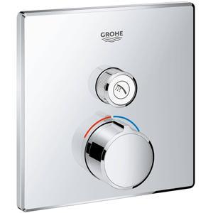Grohe Smartcontrol Afdekset voor Douchekraan vierkant
