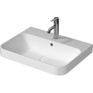 Duravit Opzetwastafel Happy D.2 Plus 60x46 cm Wit WonderGliss