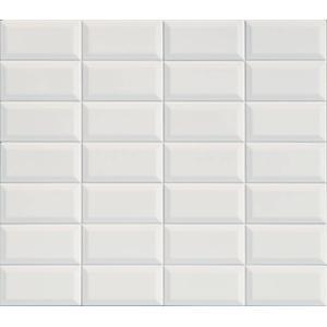 Wandtegel Terratinta Betonbrick 15x7,5x0,8 cm Diamond White 0,5M2