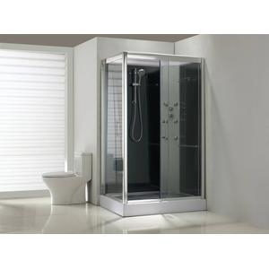 Saqu Douchecabine Rechts 120x90x225 cm Helder Glas / Aluminium Chroom