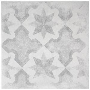 Vloertegel Terratinta Betonepoque 20x20x1,05 cm White Grey Olivia 07 1ST
