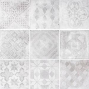 Vloertegel Terratinta Betonepoque 20x20x1,1 cm Mix 1M2