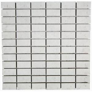 Mozaïek Terratinta Betontech 30x30x1,05 cm White 1 ST
