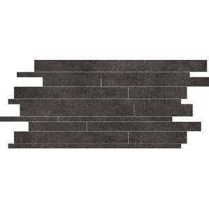 Mozaïek Terratinta Betonstil 30x60x0,95 cm Concrete Dark 6ST