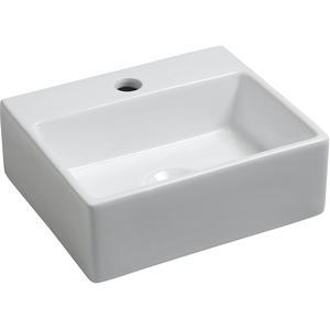 Saqu Fontein 1 kraangat 33,5x29x11 cm Wit