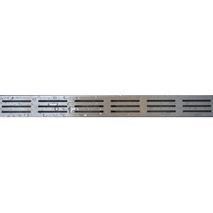 Saqu Rooster type 1 voor douchegoot 100 cm