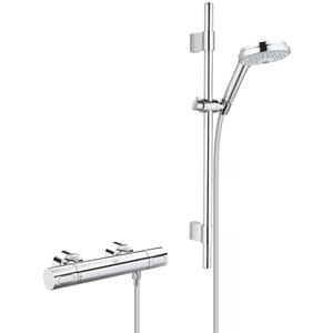 Grohe Grohtherm 3000 Cosmopolitan thermostaat comfortset Chroom