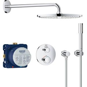 Grohe Grohterm Perfect Shower Regendoucheset Ø 31 cm met Handdouche Chroom