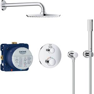 Grohe Grohtherm Perfect Shower Doucheset met Rainshower Chroom