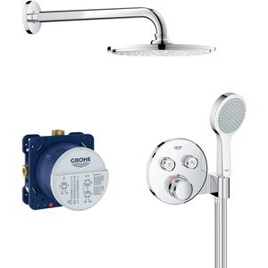 Grohtherm SmartControl Comfortset Inbouw Rainshower 210 mm Chroom