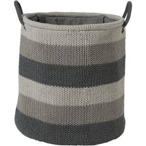 Sealskin Knitted Wasmand 36x38 cm grijs