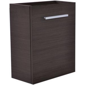 Saqu Wastafelonderkast 1 deur 40x21 cm Houtnerf Grijs