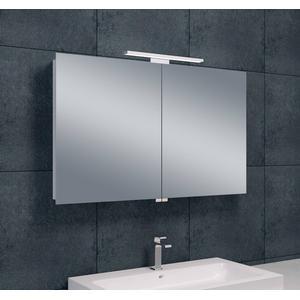 Saqu Spiegelkast met led verlichting 100x60x14