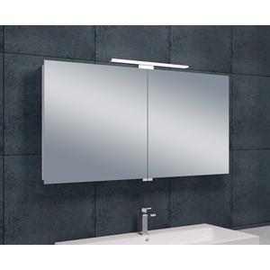 Saqu Spiegelkast met led verlichting 120x60x14