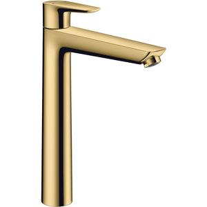 Hansgrohe Talis E Wastafelmengkraan met Pop-Up Afvoergarnituur Polished Gold Optic