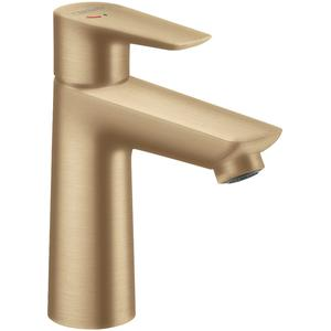 Hansgrohe Talis E Wastafelmengkraan met Pop-Up en Coolstart Brushed Bronze