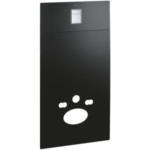 Grohe Glas-Module Voorwand voor Wandcloset met Bedieningspaneel Chroom/Velvet Zwart