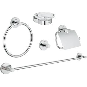 Grohe Essentials accessoireset 5-in-1 Chroom