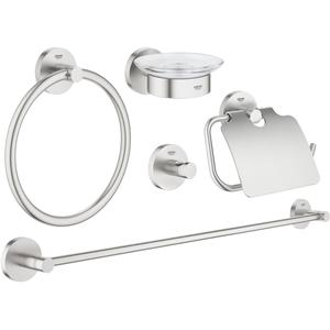 Grohe Essentials accessoireset 5-in-1 Supersteel