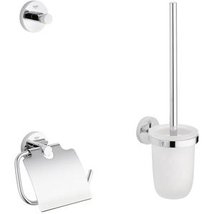 Grohe Essentials toilet accessoireset 3-in-1 Chroom