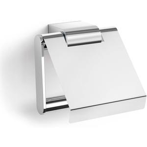 ZACK Atore Toiletrolhouder met Klep 12,4x2,8 cm Glans RVS