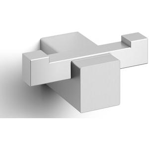 ZACK Carvo Dubbele Handdoekhaak 6,5x4,5x2,6 cm RVS Mat