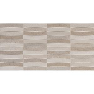 Decortegel Keraben Brancato 25x50x1 cm Blanco 1,38M2