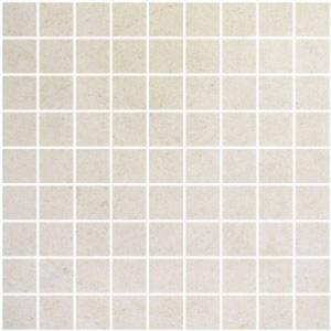 Mozaïek Keraben Beauval 30x30x1 cm Blanco 1M2
