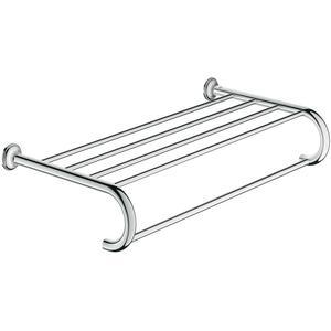 Grohe Essentials Authentic handdoekhouder met plateau 60 cm Chroom