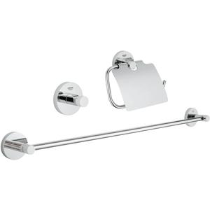 Grohe Essentials accessoireset 3-in-1 Chroom