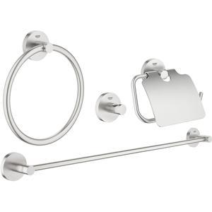 Grohe Essentials accessoireset 4-in-1 Supersteel