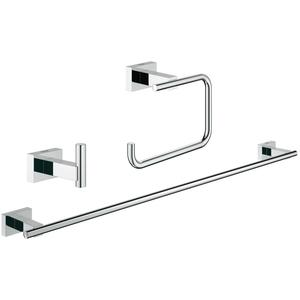 Grohe Essentials Cube accessoireset 3-in-1 Chroom