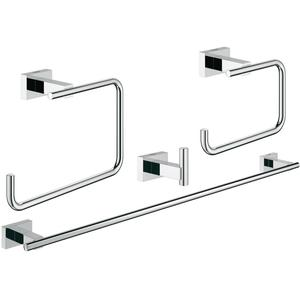 Grohe Essentials Cube accessoireset 4-in-1 Chroom
