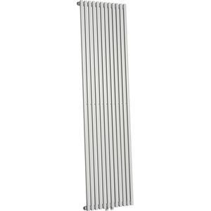 Saqu designradiator 184x47cm 1224W Wit