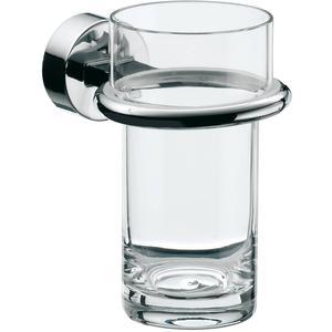 Emco Rondo 2 glashouder met glas Chroom