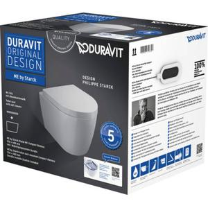 Duravit Me By Starck combipack toiletset compact Rimless wit