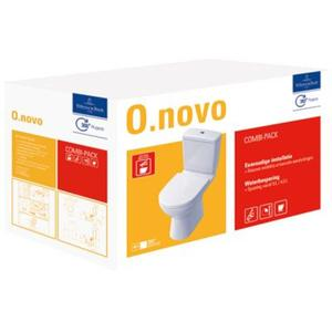 Villeroy & Boch O.Novo combipack staandcloset + zitting