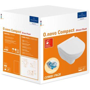 Villeroy&Boch O.Novo Wandcloset compact Directflush met zitting wit