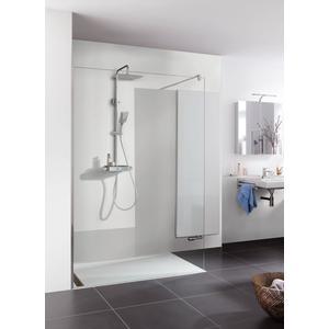 HSK RenoDeco paneel Alu 100x210 natuursteen stucwerk-wit