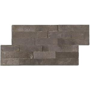 Decortegel Decor Handelsmaatschappij Canyon 18x40x- cm Zwart 0,52M2
