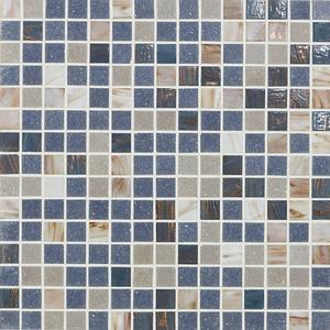 Mozaïek Deco Luce Donatello 32x32x- cm Blauw Beige Mix 1M2